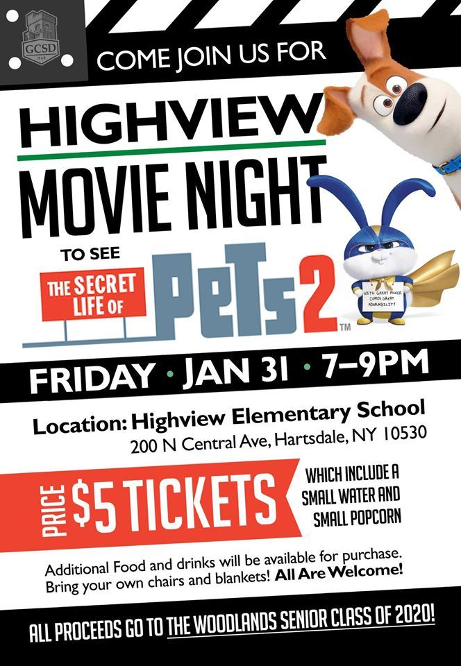 Highview Movie Night - January 31st