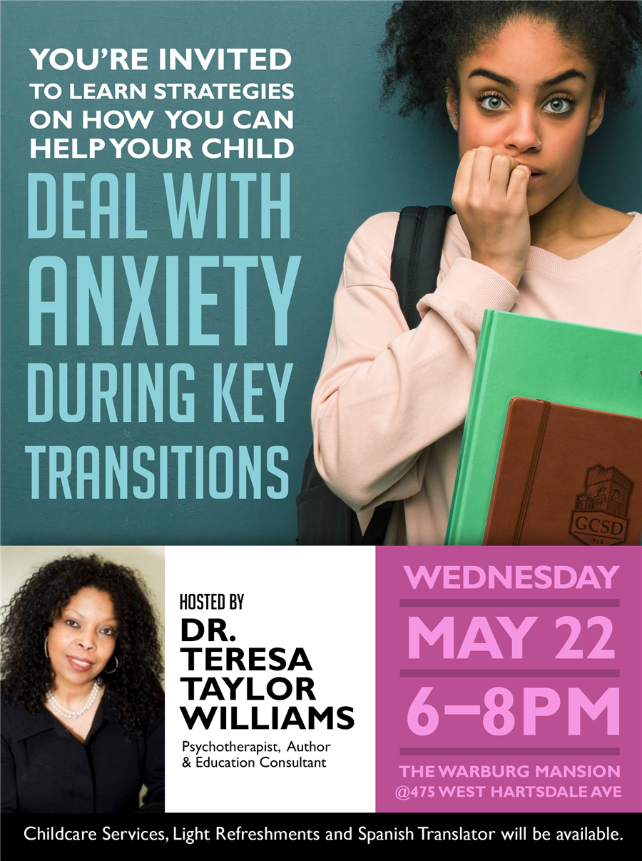 Anxiety Workshop May 22