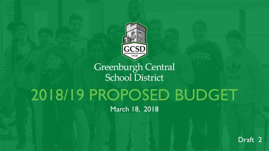 2018/19 Proposed Budget Presentation Draft 2