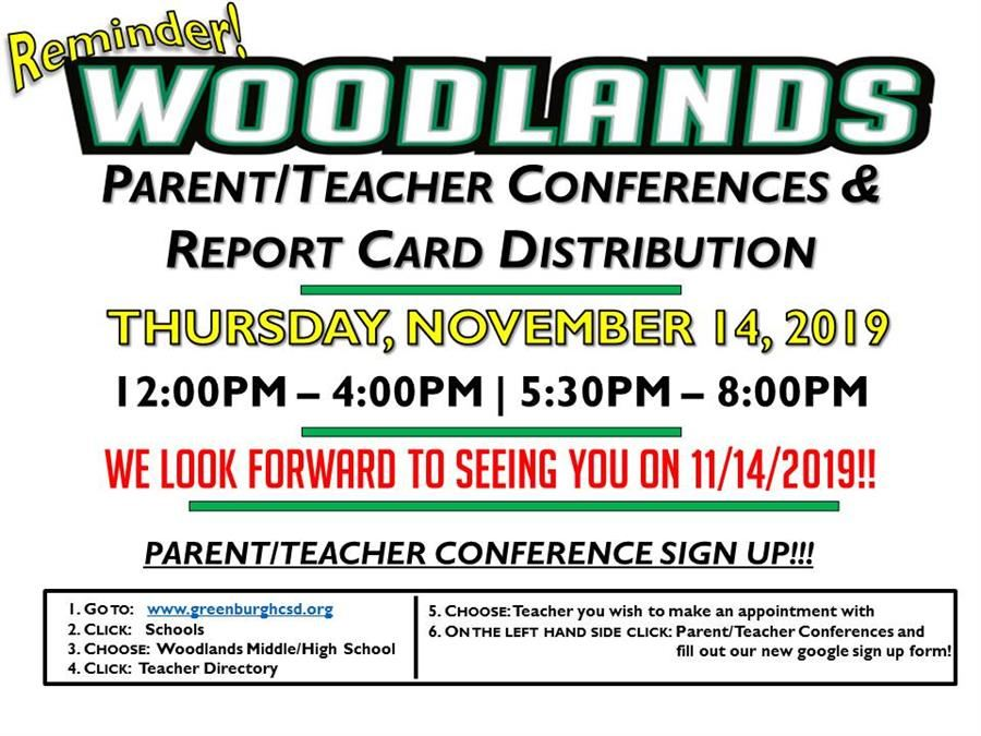 WMHS Parent-Teacher Conferences