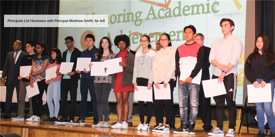 Woodlands Students Celebrated in Honor Roll Assembly & Breakfast