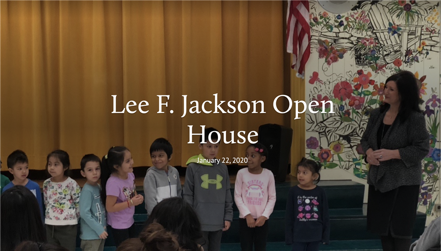 Lee F. Jackson Open House