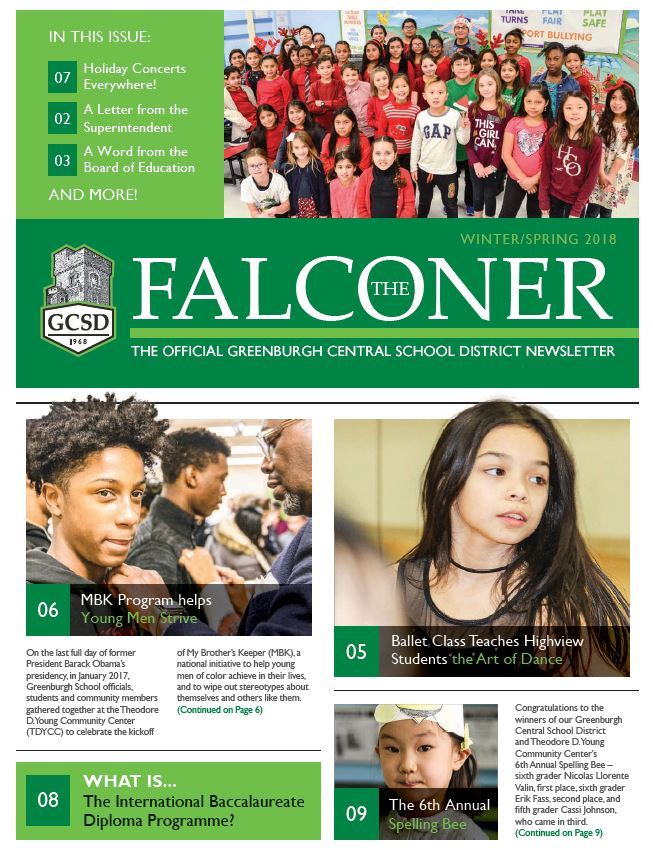 the falconer newsletter
