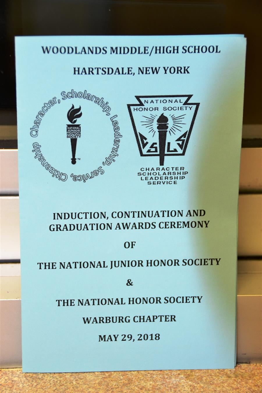 honor society program